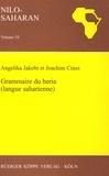 Angelika Jakobi - Grammaire du beria (langue saharienne) - Avec un glossaire français - beria.