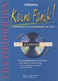 Angelika Raths - Keine Panik ! Photofiches en accompagnement du feuilleton radio , Allemand 4e, 3e. 1 Cédérom