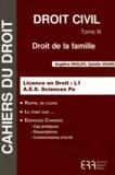 Angéline Engler et Ophélie Grare - Droit civil - Tome 3, Droit de la famille.