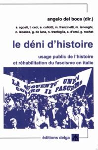 Ucareoutplacement.be Le déni d'histoire - Usage public de l'histoire et réhabilitation du fascisme en Italie Image