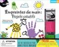 Ania Jaraczewski et Charmaine Muzyka - Empreintes de main : projets créatifs - Avec 1 manuel d'instructions, 4 peinture aquarelle en pots, 2 tampons d'empreinte de main, 1 tablette à dessin, 2 tampons encreurs !.