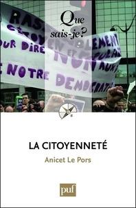 Anicet Le Pors - La citoyenneté.