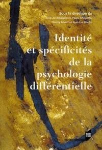 Anik de Ribaupierre et Paolo Ghisletta - Identité et spécificités de la psychologie différentielle.