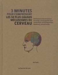 Anil Seth - 3 minutes pour comprendre les 50 plus grands mécanismes du cerveau - Architecture et fonctionnement du cerveau, cerveau gauche contre cerveau droit, cerveau linguistique, émotionnel, sommeil et rêve....