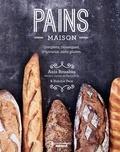 Anis Bouabsa et Sidonie Pain - Pains maison - Complets, classiques, originaux, sans gluten.
