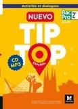 Anissa Creux-Tiouiri et Antonia Pereira - Español 2de Bac Pro Nuevo Tip Top. 1 CD audio MP3