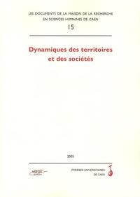 Anissa Zeghiche et Robert Hérin - Dynamiques des territoires et des sociétés.