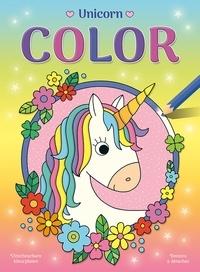 Anita Engelen - Unicorn Color - Dessins à détacher.