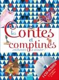 Anja Klauss et Pascal Vilcollet - Les Contes et comptines enchantés à écouter ! - Volume 2. 1 CD audio
