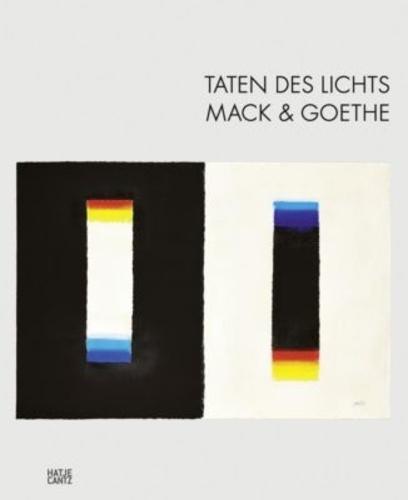 Anke Bosse - Taten des lichts mack & Goethe.
