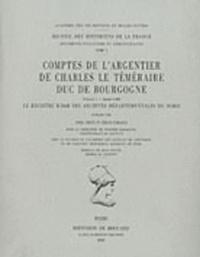 Feriasdhiver.fr Comptes de l'argentier de Charles le Téméraire, duc de Bourgogne - Volume 1, Le registre B 2068 des Archives départementales du Nord (année 1468) Image