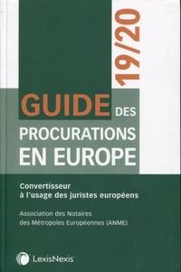 Guide des procurations en Europe - Convertisseur à lusage des juristes européens.pdf