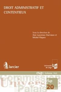 Droit administratif et contentieux - Ann Lawrence Durviaux |