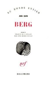 Ann Quin - Berg.
