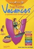 Ann Rocard - Hachette vacances de la 4e à la 3e.