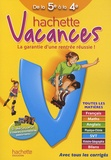 Ann Rocard - Hachette vacances de la 5e à la 4e.