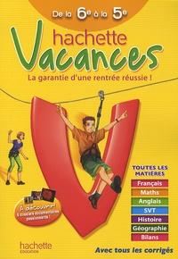 Hachette vacances de la 6e à la 5e - Ann Rocard | Showmesound.org