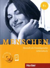 Anna Breitsameter et Sabine Glas-Peters - Menschen B1 - Deutsch als Fremdsprache. Arbeitsbuch. 2 CD audio
