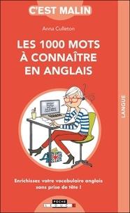 Téléchargements gratuits de livres audio complets Les 1 000 mots à connaître en anglais 9791028515959 par Anna Culleton