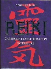 Anna Eva Jahier - Reiki - Cartes de transformation intérieure.