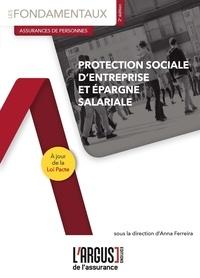 Anna Ferreira - Protection sociale d'entreprise et épargne salariale.
