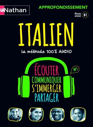 Anna Ghirardello - Coffret Italien approfondissement - B1. 4 CD audio
