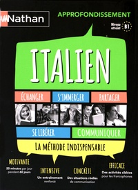 Anna Ghirardello - Italien approfondissement B1. 3 CD audio