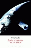 Anna Guilló - Ecrits d'artistes au XXe siècle.