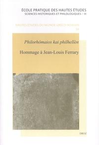 Anna Heller et Christel Müller - Hommage à Jean-Louis Ferrary - Philorhômaios kai philhellèn.