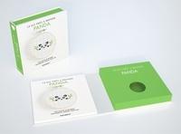 Anna Lena - Pandas - Avec 1 livre, 1 mini-tambour, 1 toile & des fils, 1 aiguille.