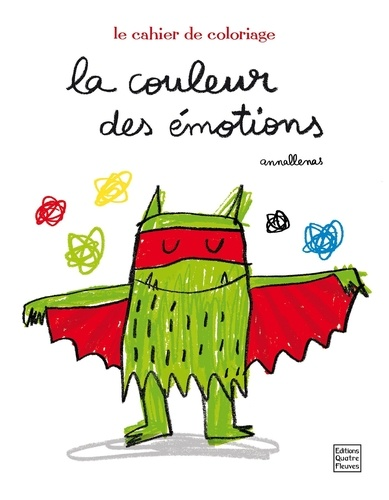 Monstre Des émotions à Colorier