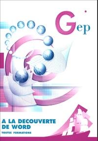 Birrascarampola.it A la découverte de Word : Initiation au logiciel Word versions XP/2000 - Enoncé Image