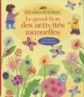Anna Milbourne et Rebecca Gilpin - Mon grand livre d'activités manuelles - Avec plus de 400 autocollants.