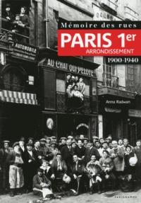 Anna Radwan - Mémoire des rues : 1er arrondissement.