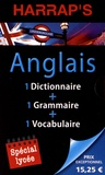 Anna Stevenson - Bibliothèque anglaise Harrap's - Pack en 3 volumes : Dictionnaire de poche anglais ; Grammaire anglaise ; Vocabulaire anglais.