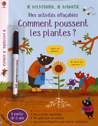 Anna Süssbauer - Mes activités effaçables Comment poussent les plantes ? - Avec un feutre à encre effaçable.