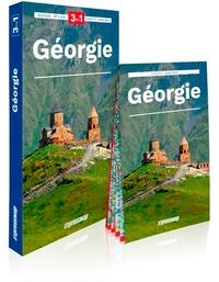 Anna Szymczak et Marcin Szymczak - Géorgie - Guide + Atlas + Carte.