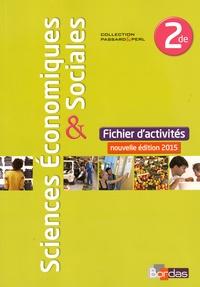 Annabel Beaupied et Estelle Cardon - Sciences économiques & sociales 2de - Fichiers d'activités.