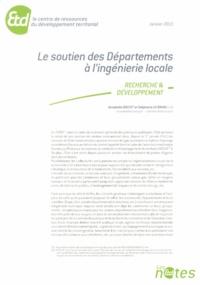 Annabelle Boutet et Stéphanie Le Bihan - Le soutien des Départements à l'ingénierie locale.