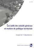 Annabelle Boutet - Les outils des conseils généraux en matière de politique territoriale - Analyse de 11 départements.