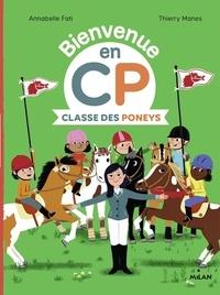 Annabelle Fati et Thierry Manès - Classe des Poneys.