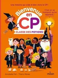 Annabelle Fati et Thierry Manès - Classe des potions.