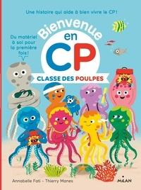Annabelle Fati et Thierry Manès - Classe des Poulpes.