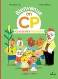 Annabelle Fati et Thierry Manès - Classe des poussins.