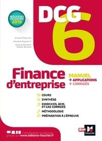 Annaïck Guyvarc'h - DCG 6 - Finance d'entreprise - Manuel et applications.