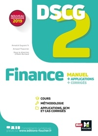 Annaïck Guyvarc'h et Arnaud Thauvron - DSCG 2 - Finance - Manuel et applications.