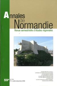 Jean-Jacques Bertaux - Annales de Normandie 59e année N° 2, Juil : .