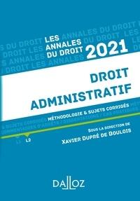 Xavier Dupré de Boulois - Annales Droit administratif 2021.