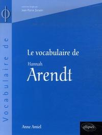 Le vocabulaire de Hannah Arendt.pdf
