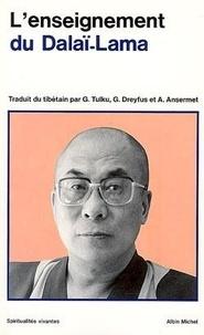 Anne Ansermet et Gonsar Tulku - L'enseignement du Dalaï lama.